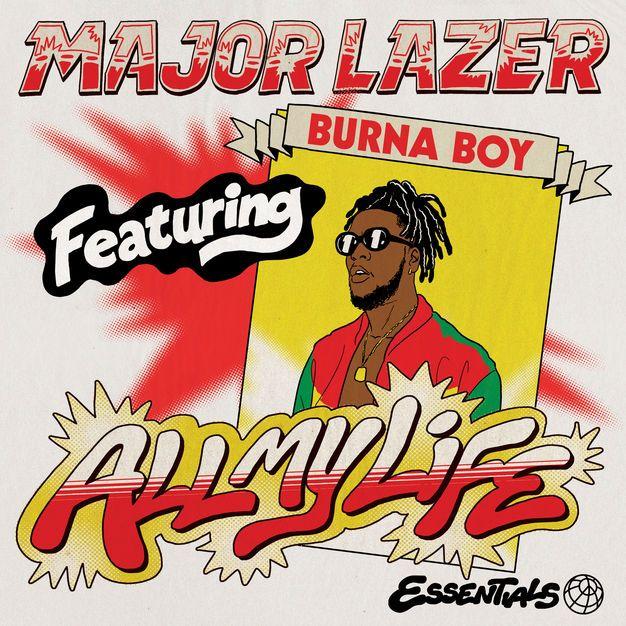 Video: Major Lazer wampa shavu Burna Boy kwenye 'All my Life', kuzuru Afrika