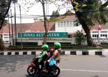 Kantor Dinas Kesehatan Kota sukabumi. Foto: dara.co.id/Riri