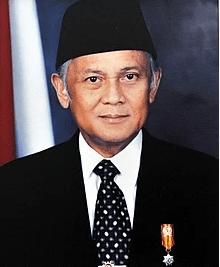 BH Habibie (Foto: wikipedia)