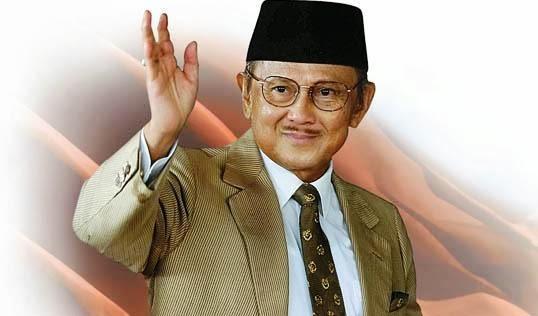 BJ Habibie (Foto: Lombokita)
