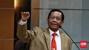 Mahfud MD (Menkopolhukan)/foto CNN Indonesia