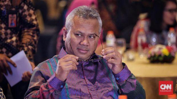 Ketua KPU Arief Budiman (Foto : CNNIndonesia)