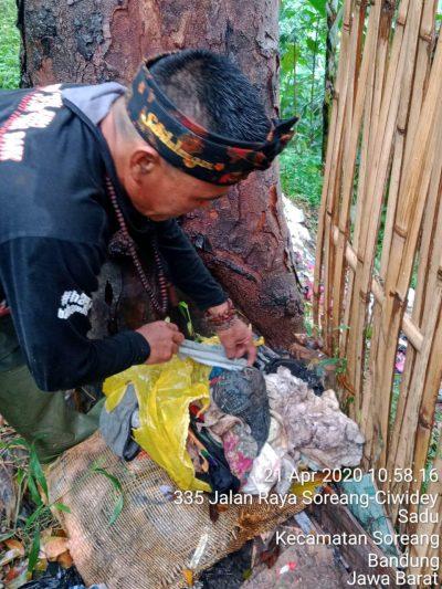 Wisnu Suwardana, pejuang lingkungan Jurig Runtah Marakayangan (Foto: verawati/dara.co.id)