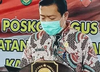 Juru bicara Tim GTPP Covid-19 Kabupaten Subang, dr. Maxi (Foto: Deny Suhendar/dara.co.id)