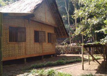 Rumah di kampung adat Cikondang (Foto: Ferdi/Adam)