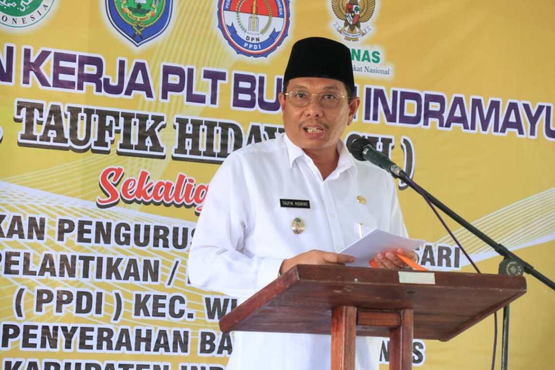 Plt Bupati Indramayu Taufik Hidayat