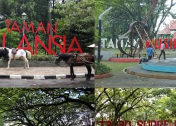 Ilustrasi taman di Kota Bandung (Foto: Seputar Bandung Raya)