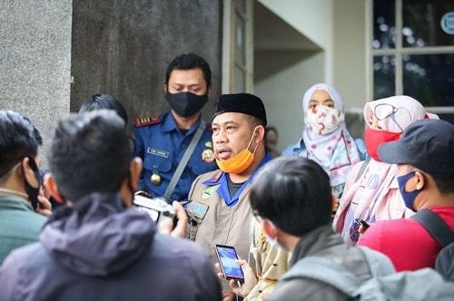 Kepala Bidang Penanggulangan Bencana Dinas Kebakaran dan Penanggulangan Bencana Kota Bandung Dian Rudianto (Foto: Avila/dara.co.id)