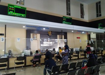 Kantor Disdukcapil Garut di Jalan Patriot, Kecamatan Tarogong Kidul, Kabupaten Garut (Foto: Andre/dara.co.id)