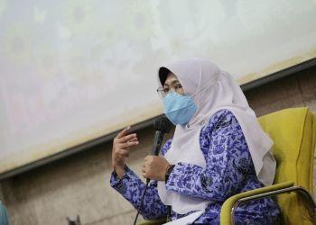 Kepala Bidang Pencegahan dan Pengendalian Penyakit Dinkes Kota Bandung Rosye Arosdiani (Foto: Avila/dara.co.id)