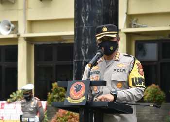 Kapolresta Cirebon Kombes Pol M. Syahduddi, S.I.K tegas menyatakan dilarang merayakan malam tahun bari (Foto: Bambang Setiawan/dara.co.id)