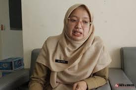 Sekretaris Dinas Kesehatan (Dinkes) Kabupaten Garut, dr..Leli Yuliani.