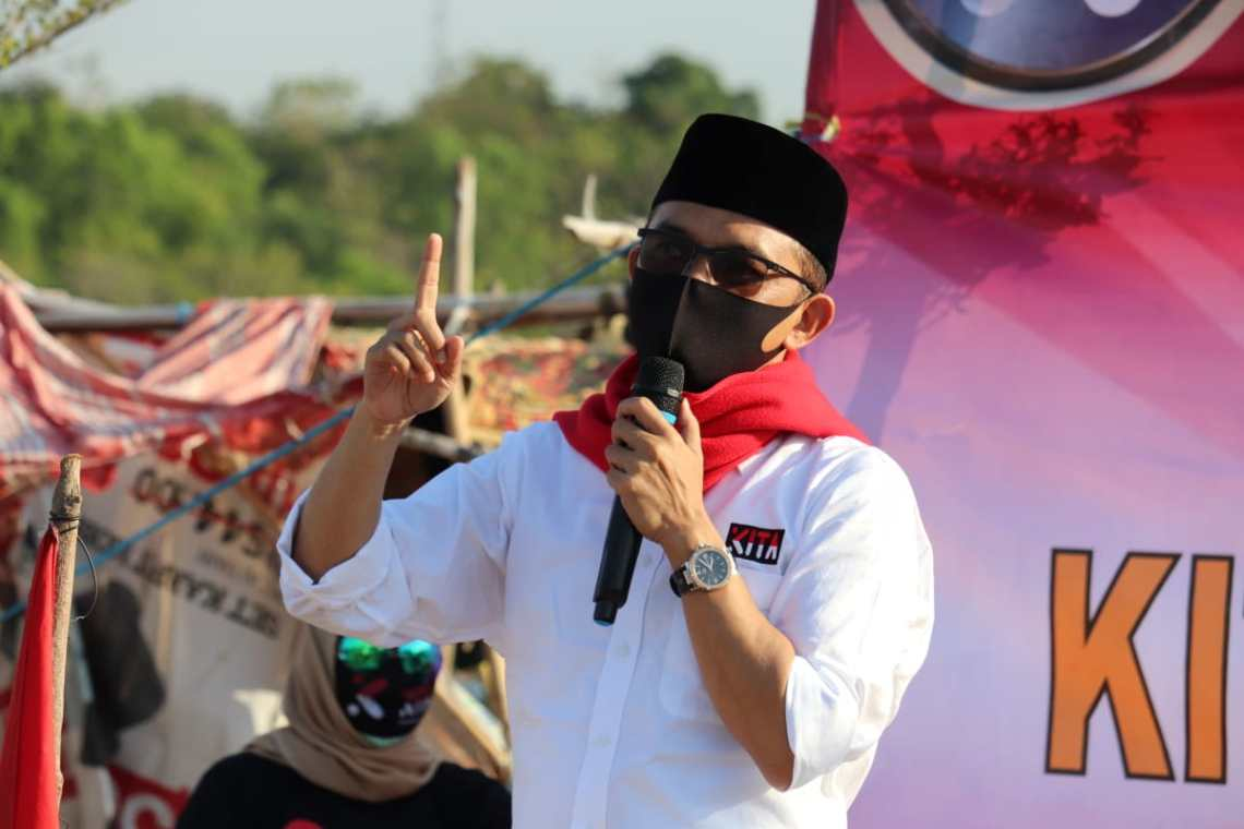 Ketua Kerapatan Indonesia Tanah Air (KITA) Maman Imanulhaq (Foto: Yohanes/dara.co.id)