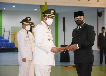 Taufik Hidayat Ditetapkan Sebagai Bupati Indramayu (Foto: Yohanes/dara.co.id)