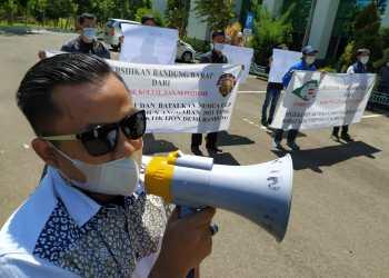 Forum Bandung Utara gelar demo sampaikan tiga  tuntutannya (Foto: Istimewa)