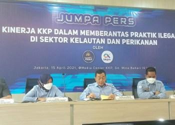 KKP tangkap 72 kapal ilegal fishing dan destructive fishing di 100 hari pertama Menteri Trenggono. (Foto: dara.co.id/KKP)