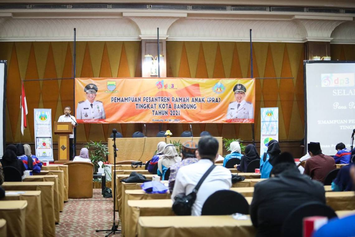 DP3A gelar Workshop Pendampingan Sekolah Ramah Anak (SRA) melalui Pemampuan Pesantren Ramah Anak (PRA) di Hotel Grand Pasundan, Kota Bandung (Foto: Istimewa)