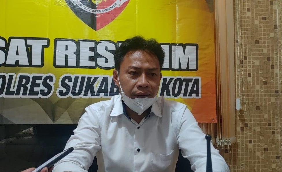 Kasatreskrim Polres Sukabumi Kota AKP Cepi Hermawan,saat memberi keterangan di Mapolres Sukabumi Kota (Foto: Istimewa)