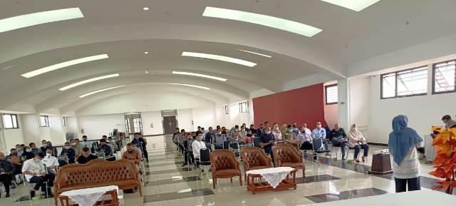 Rapat Koordinasi persiapan invetarisir dan pemuktahiran database aset Pemda Kabupaten Bandung Barat, Jumat (21/5/2021). (Foto : istimewa)