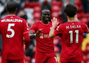 Liverpool lolos ke Liga Champions usai menduduki peringkat ketiga setelah mengalahkan Crystal Palace dengan skor 2-0. (Foto : Indosport.com)