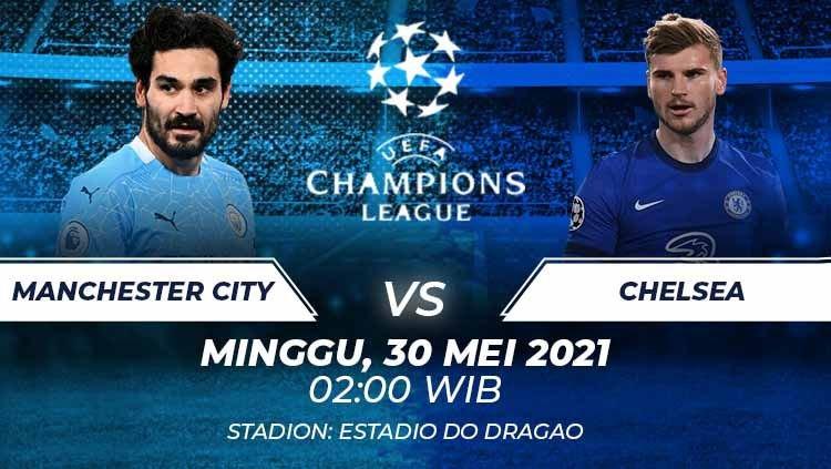 Final Liga Champions 2021 (Foto : Indosport.com)