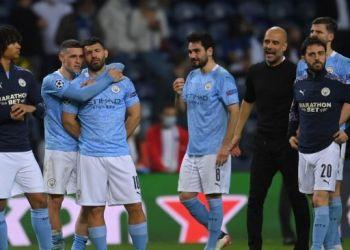 Strategi Pep Guardiola tak mampu membawa Manchester City  juara Champions. Pada musim ini juara direbut Chelsea (Foto : suara.com)