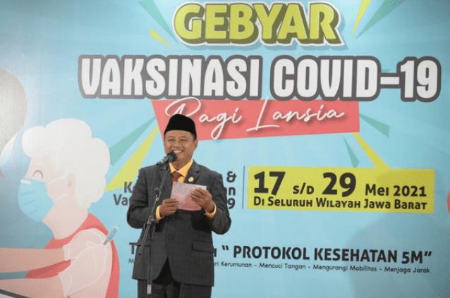 Wakil GUbernur Jawa Barat, Uu Ruzhanul Ulum (Foto: Lenterajabar)