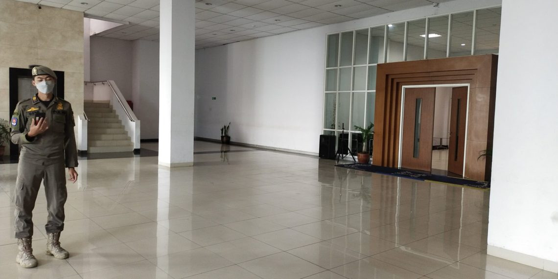 Suasana kondisi lantai 2 Gedung Bupati (Foto: Heni Suhaeni/dara.co.id)