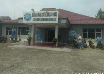 Kantor BNN Kabupaten OKI (Foto: Erwandi/dara.co.id)