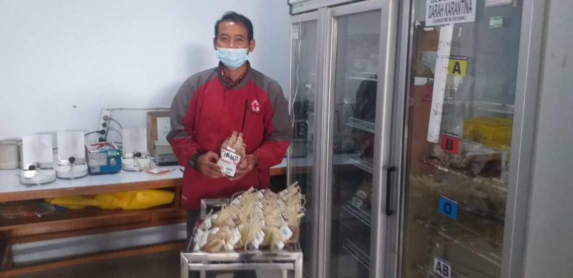 Sekretaris Palang Merah Indonesia (PMI) Kabupaten Garut, Iwan Riswandi