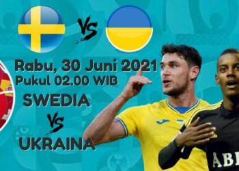 Swedia vs Ukraina (Grafis : amel/dara.co.id)