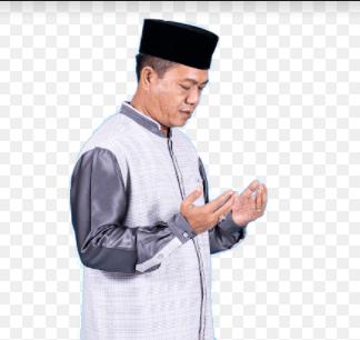 Bupati Bandung, dadang Supriatna sedang berdoa (Foto: Humas Pemkab Bandung)