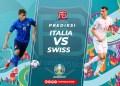 Italia vs Swiss (Foto : Football5star.com)