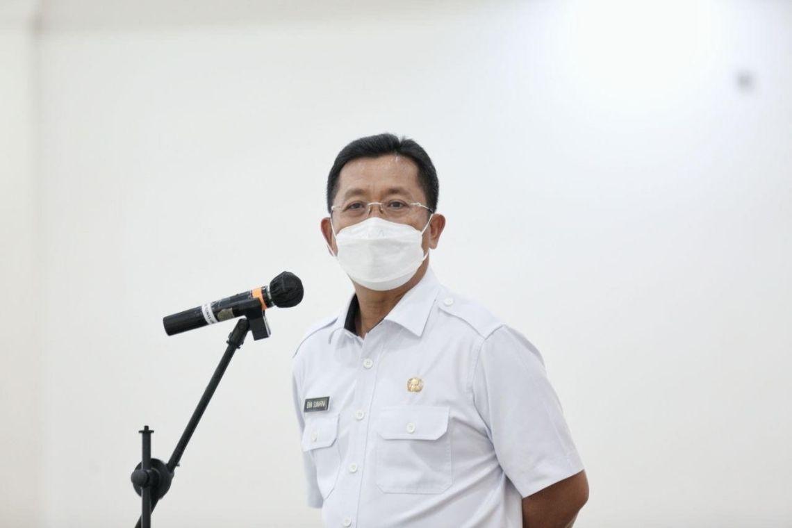 Ketua Harian Satuan Tugas Penanganan Covid-19 Kota Bandung Ema Sumarna (Foto: Istimewa)