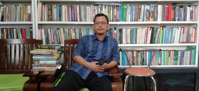 Asep M Tamam (foto : Nanang Yudi)