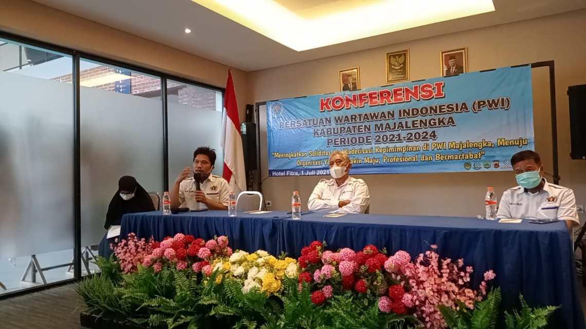 Keonferensi PWI Majalengka ditunda karena tak memenuhi kuorum (Foto: Yohanes/dara.co.id)