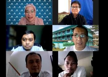 Paramadina gelar diskusi publik secara daring bertajuk agama dan kepercayaan (Foto: Istimewa)