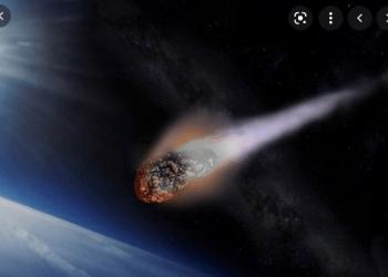 Ilustrasi meteor (Foto: huffingtonpost/Bisnis.com)