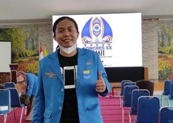Ketua PC PMII Kabupaten Tasikmalaya, Zamzam Multazam.