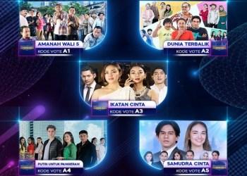Indonesian Drama Series Awards 2021 akan digelar malam ini Selasa (31/8/2021). (Foto: sindonews.com)
