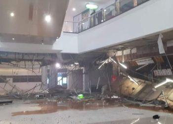 Dampak ledakan di Mall Margo City Depok /Eko Budi Ahdayanto/ARAHKATA/galamedianews.com