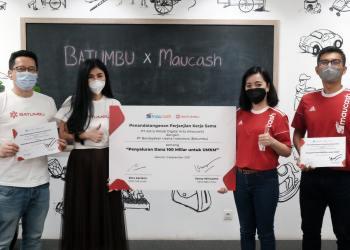 Program sinergi dan kolaborasi Batumbu dengan Maucash diharapkan dapat menjadi solusi bagi UMKM di Indonesia dalam mengembangkan usahanya. Melalui program kerja sama kedua perusahaan fintech P2P lending ini ditargetkan dapat melakukan penyaluran dana UMKM sebesar Rp100 miliar (Foto: Istimewa)
