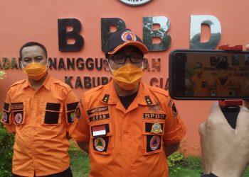 Sekretaris Badan Penanggulangan Bencana Daerah (BPBD) Kabupaten Cianjur, Mokhamad Irfan Sofyan (Foto: Purwanda/dara.co.id)