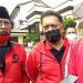 Ketua DPC PDI Perjuangan Kota Bandung Achmad Nugraha bersama jajaran pengurus (Foto: Istimewa)
