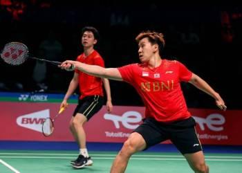 Indonesia jumpa Cina di final Piala Thomas 2020, setelah menyingkirkan Denmark 3-1. (Foto :twitter)
