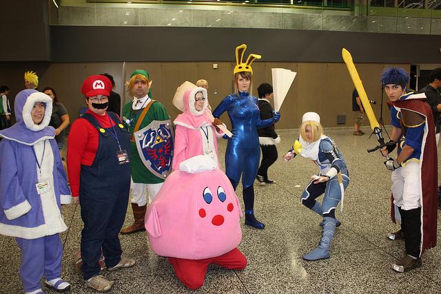 smash Bros. cosplay