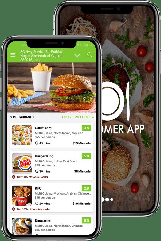 menulog app clone
