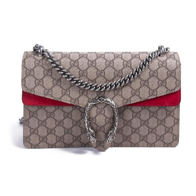 Gucci-Beige-GG-Supreme-Canvas-Bag