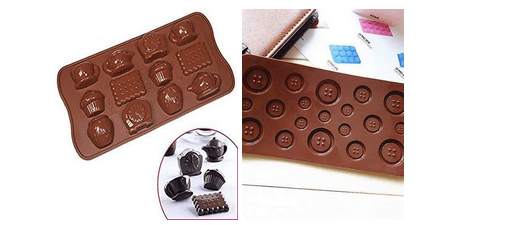 Pre-Molded Chocolate Shapes