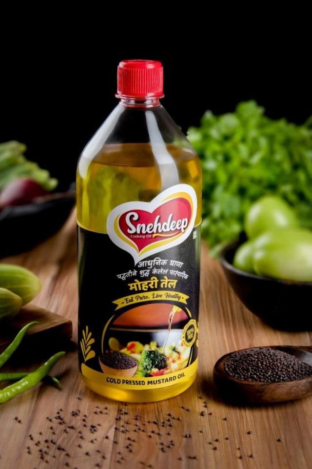 cold-pressed mustard oil